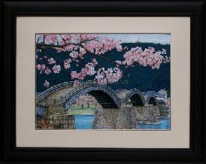 Cầu Nhật và hoa anh đào - PA-102