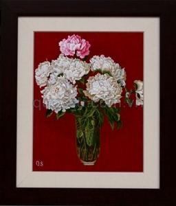 Bình hoa phù dung 2 - QS.d-029