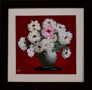 Bình hoa phù dung 1 - QS.d-028