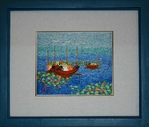 Biển lam - QS-017