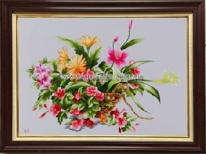 Giỏ hoa - QS.r-110