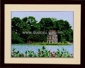Hồ Gươm hoa 2 - Qs.đ-100b