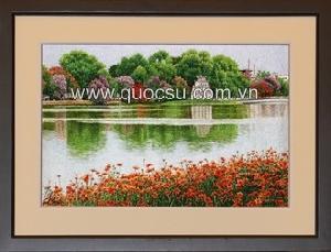 Hồ Gươm bằng lăng 2 - VN-078b