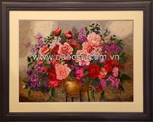 Lẵng hoa hồng - FL-194